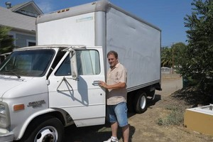 Photo #1: Moving or hauling with 14 foot box van