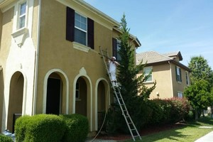 Photo #3: Low price to paint you home exterior! Call today!