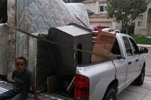 Photo #1: A-team hauling - $75per truck load
