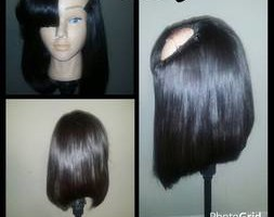 Photo #1: The Queen of weaves. Bob Upart wig $280 includes installation