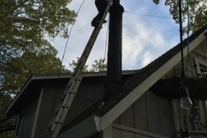 Photo #10: Downed trees/fencing/drain issues/gutters/chimney & more