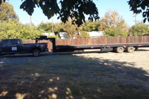 Photo #4: Shipping and hauling with 40'tiltbed trailer