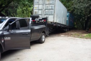 Photo #3: Shipping and hauling with 40'tiltbed trailer