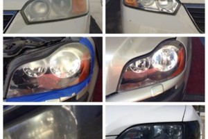 Photo #1: Headlight restoration/cleaning - $25 each/ $50 a pair