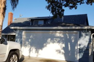 Photo #1: Rain & seamless gutters - $5 per Ft. install