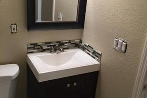 Photo #1: Home remodel - Kitchen & bathroom (Cabinets/Sink&tub/Granite/Tile)