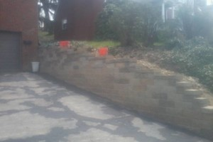 Photo #12: Karcher Masonry - garages, fireplaces, porch piers, retaining walls