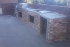 Photo #10: Karcher Masonry - garages, fireplaces, porch piers, retaining walls