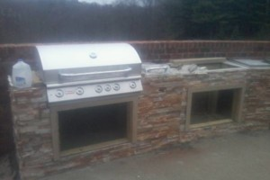 Photo #9: Karcher Masonry - garages, fireplaces, porch piers, retaining walls