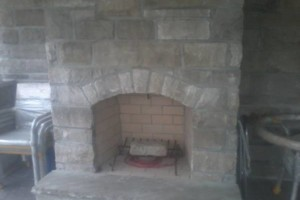 Photo #6: Karcher Masonry - garages, fireplaces, porch piers, retaining walls