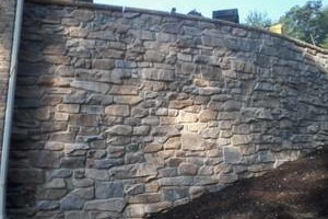 Photo #5: Karcher Masonry - garages, fireplaces, porch piers, retaining walls