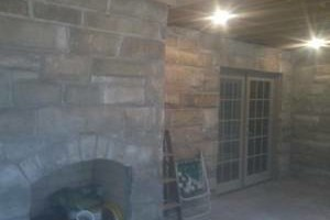 Photo #2: Karcher Masonry - garages, fireplaces, porch piers, retaining walls