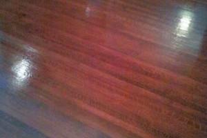 Photo #1: Hardwood Floor Complete Refinishing at Top Quality Work!