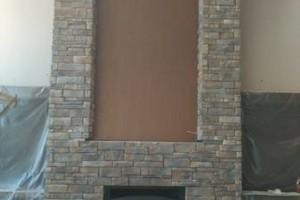 Photo #11: Wolfe Masonry LLC - retaining walls, concrete, mailboxes, chimney