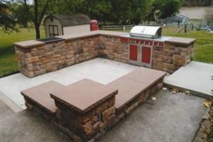 Photo #9: Wolfe Masonry LLC - retaining walls, concrete, mailboxes, chimney