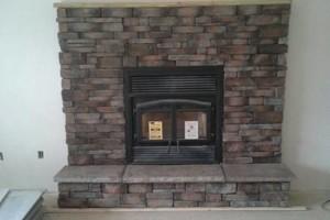 Photo #5: Wolfe Masonry LLC - retaining walls, concrete, mailboxes, chimney