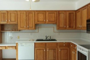 Photo #2: Kitchen Cabinet Refinishing. SAVE THOUSANDS$$ over new!