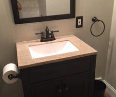 Photo #2: Tony Dutton Maintenance. INTERIOR REMODELING (Bathrooms, Basements, Painting Etc.)
