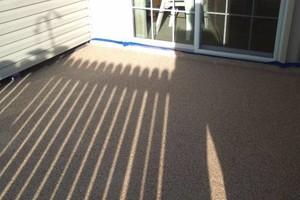Photo #1: Garage and basement floor coating