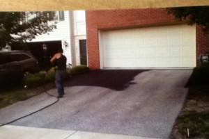 Photo #1: Asphalt driveway seal coating 75$ off. Call Mario!