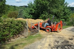Photo #3: DEMOLITION. MINI BACKHOE SERVICE