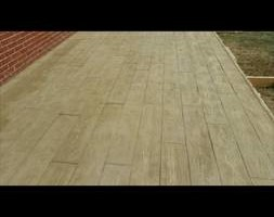 Photo #5: Flat concrete, and stamped concrete work