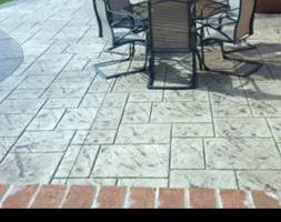 Photo #4: Flat concrete, and stamped concrete work