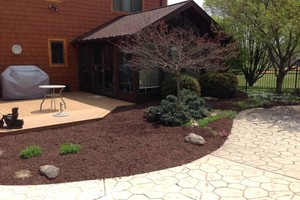 Photo #3: Briant's Lawn Care & Mulching