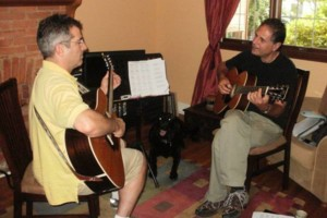 Photo #3: Experienced, patient guitar teacher Peter King gets results. Studio or your home!