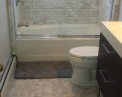 Photo #4: True Construction LLC. TILE SETTER, FLOORING, BATHROOMS SURROUNDS