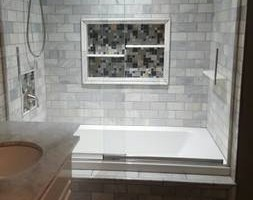 Photo #2: True Construction LLC. TILE SETTER, FLOORING, BATHROOMS SURROUNDS