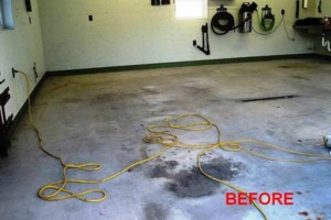 Photo #24: Got UGLY Concrete? ... We Have the CURE! Custom Epoxy Floor Coatings