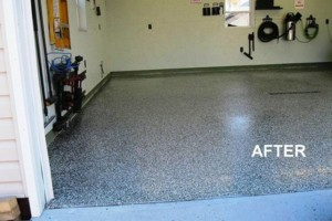 Photo #23: Got UGLY Concrete? ... We Have the CURE! Custom Epoxy Floor Coatings