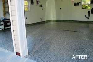 Photo #21: Got UGLY Concrete? ... We Have the CURE! Custom Epoxy Floor Coatings