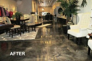 Photo #19: Got UGLY Concrete? ... We Have the CURE! Custom Epoxy Floor Coatings