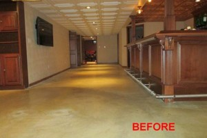 Photo #16: Got UGLY Concrete? ... We Have the CURE! Custom Epoxy Floor Coatings