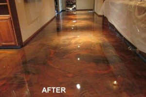 Photo #15: Got UGLY Concrete? ... We Have the CURE! Custom Epoxy Floor Coatings