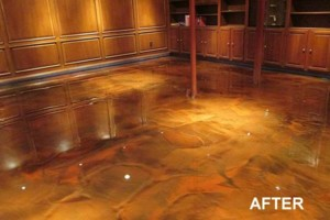 Photo #13: Got UGLY Concrete? ... We Have the CURE! Custom Epoxy Floor Coatings