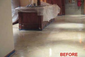 Photo #12: Got UGLY Concrete? ... We Have the CURE! Custom Epoxy Floor Coatings