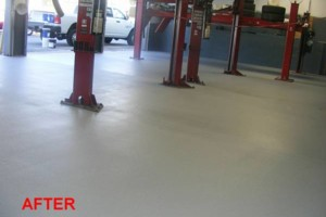 Photo #6: Got UGLY Concrete? ... We Have the CURE! Custom Epoxy Floor Coatings