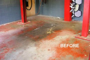 Photo #5: Got UGLY Concrete? ... We Have the CURE! Custom Epoxy Floor Coatings