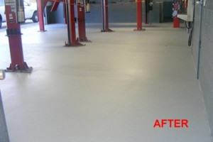 Photo #3: Got UGLY Concrete? ... We Have the CURE! Custom Epoxy Floor Coatings