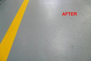 Photo #2: Got UGLY Concrete? ... We Have the CURE! Custom Epoxy Floor Coatings