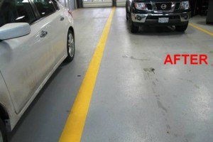 Photo #1: Got UGLY Concrete? ... We Have the CURE! Custom Epoxy Floor Coatings