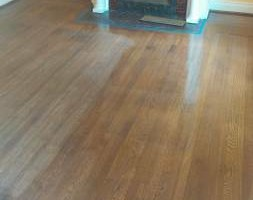 Photo #1: $.99sq/ft HARDWOOD FLOOR RESURFACE (pittsburgh)