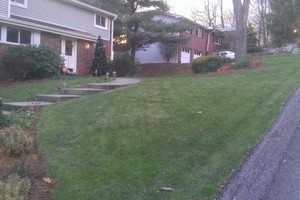 Photo #3: Spring Cleanups / Mulching - NURTURE the NATURE Lawns and Landscapes