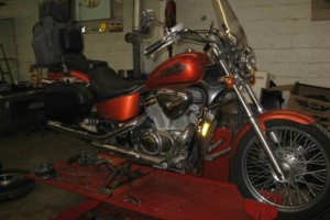 Photo #1: CYCLE/ATV/SCOOTER REPAIR. Labor Rate $75 hr