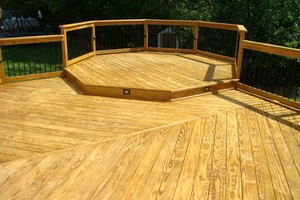 Photo #6: DECK CLEANING, CONCRETE CLEANNG, POWERWASHING!!! 20 years in PGH!