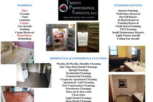 Photo #1: Trinity Professional Services, LLC - cleaning, painting,