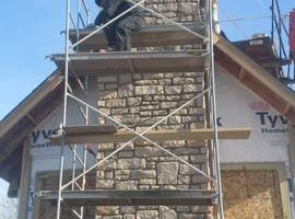 Photo #1: Masonry/stone work by B&K constraction, llc